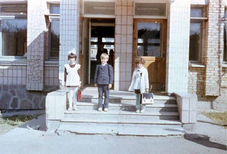 Школьники Припяти
