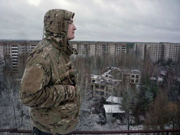 Сталкер в Чернобыле