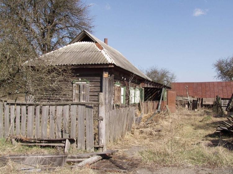 Жилой частный дом в Чернобыле