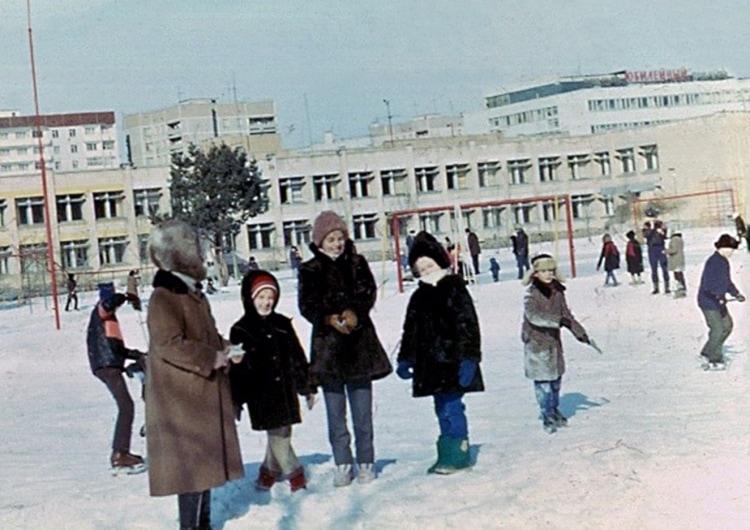Жители Припяти зимой