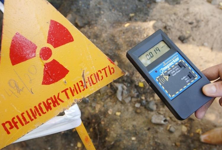 Уровень радиации в Чернобыле