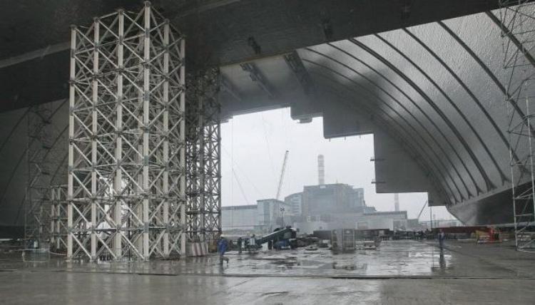 Укрытие 4 реактора ЧАЭС