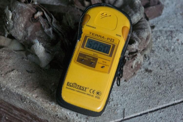 Радиация в Чернобыле после аварии на ЧАЭС