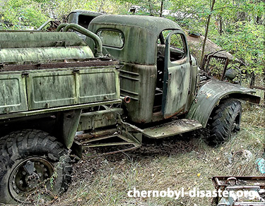 Chernobyl now and then