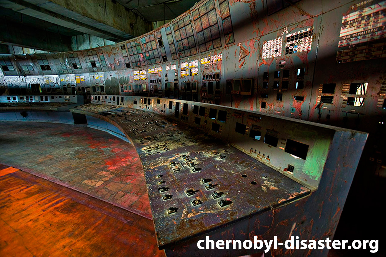 Inside Chernobyl nuclear plant