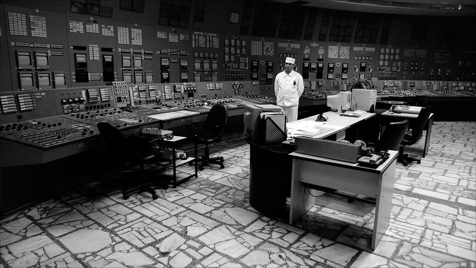 Inside of Chernobyl power plant