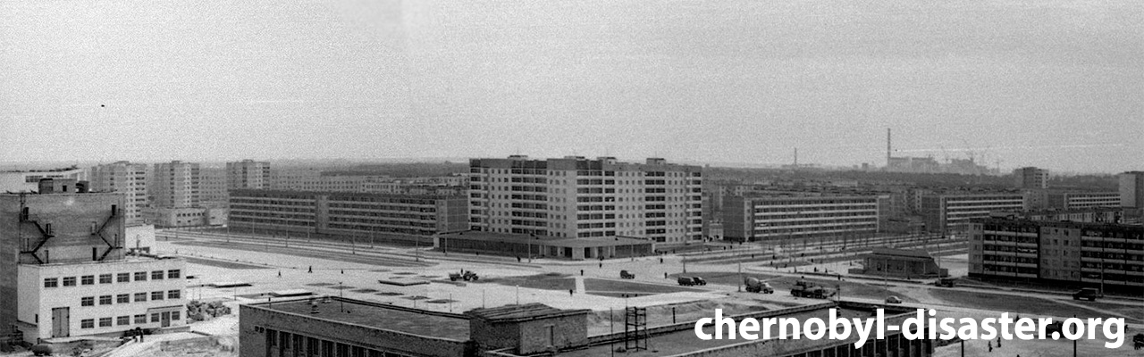 Chernobyl Pripyat Ukraine before the disaster