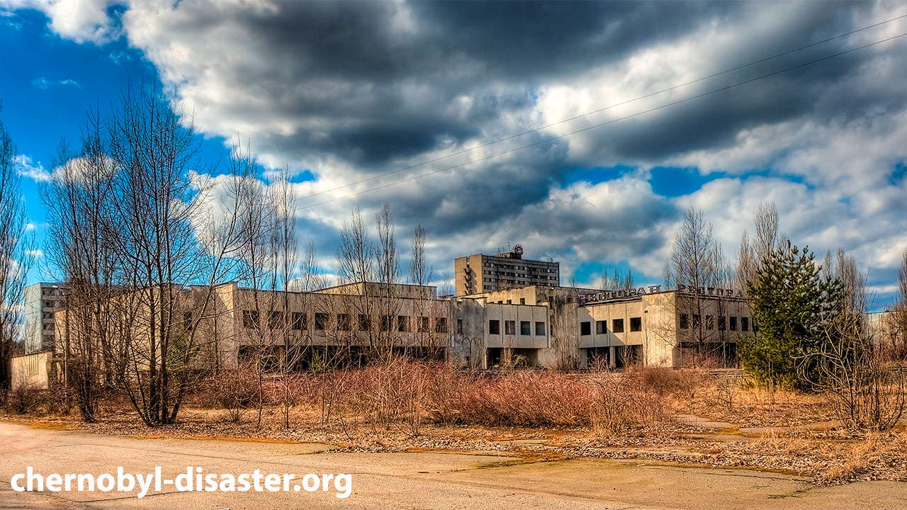 Pripyat Ukraine - ghost city