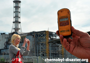 Chernobyl radiation levels today