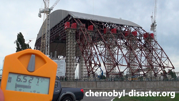 Chernobyl sarcophagus today