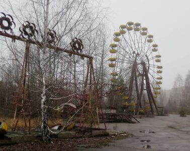 Video about Chernobyl 25 years later