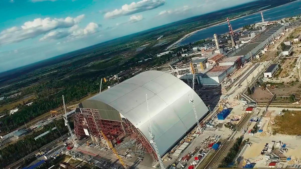 chernobyl nuclear power plant new sarcophagus