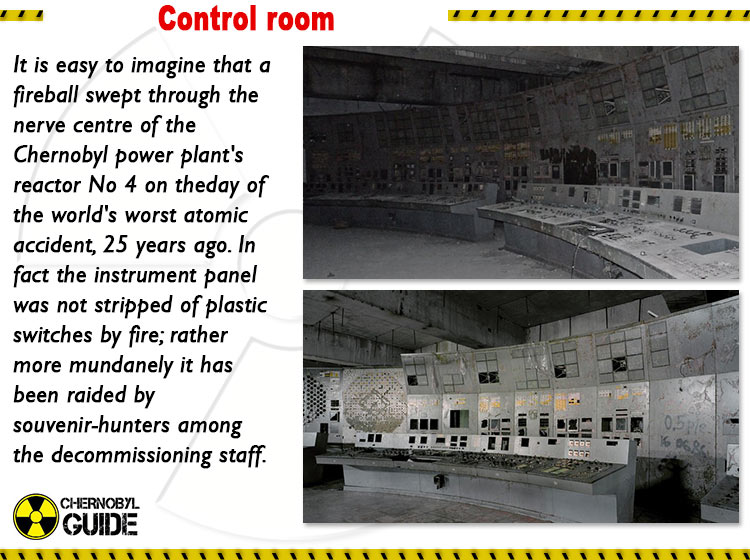 chernobyl control room pictures