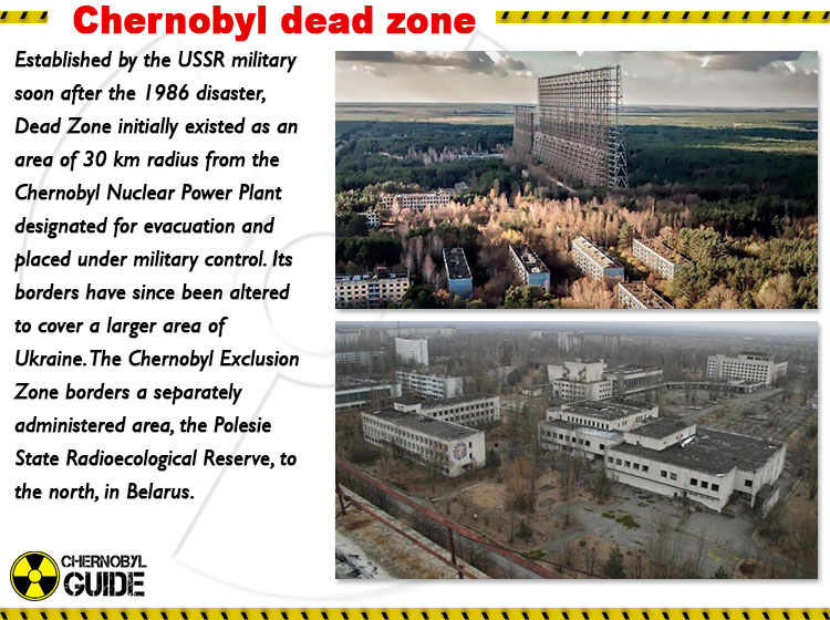 chernobyl dead zone pictures