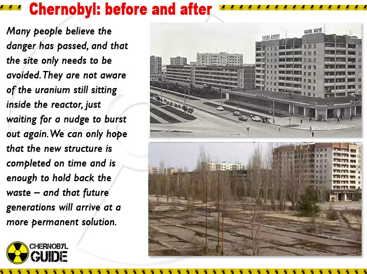 chernobyl disaster pictures before and after