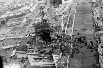Footage about Chernobyl explosion - video