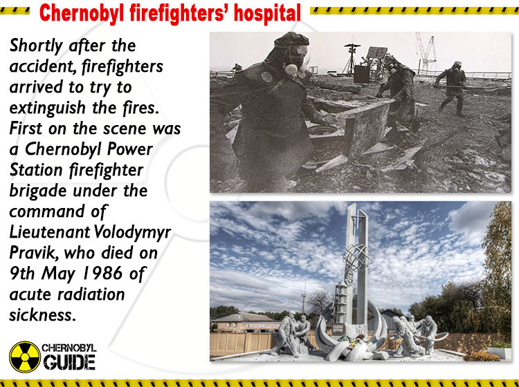 chernobyl firefighters hospital pictures