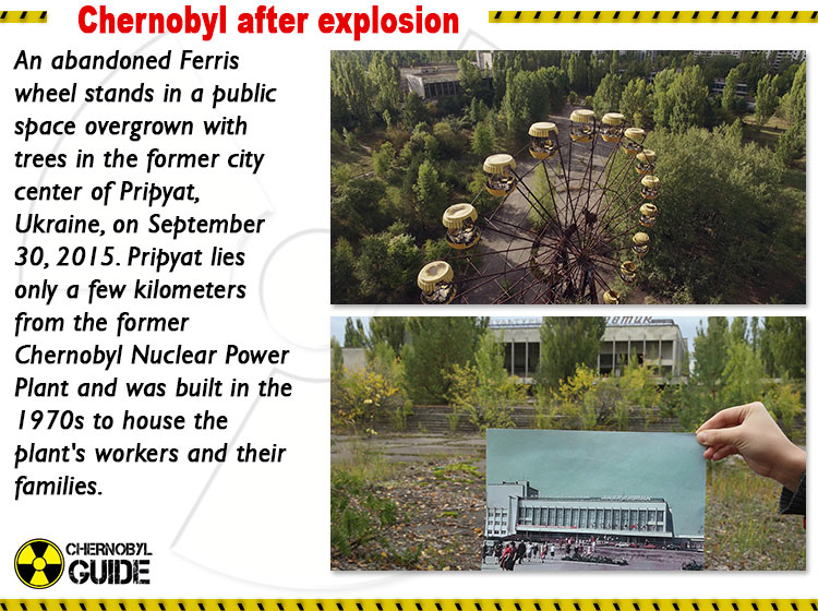 chernobyl pictures after explosion
