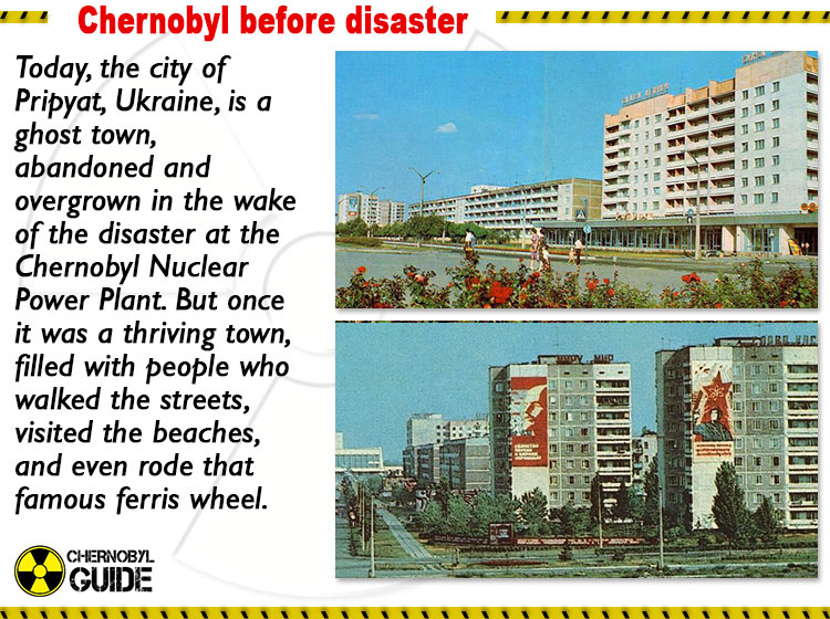chernobyl pictures before disaster