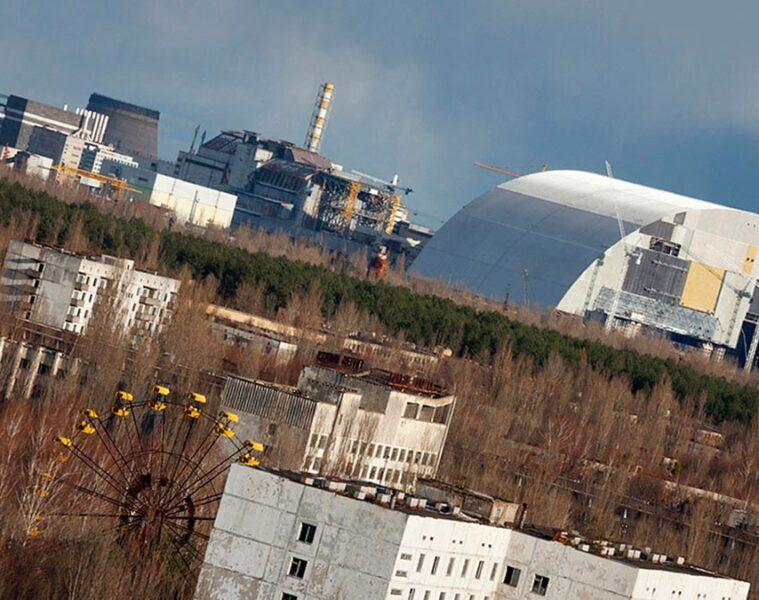 chernobyl reactor 4 sarcophagus