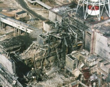 Video of explosion in Chernobyl Power Plant