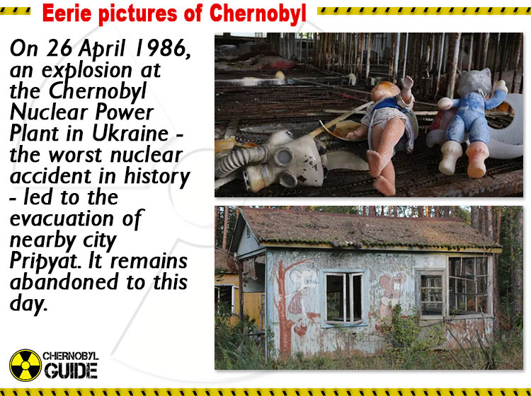 eerie pictures of chernobyl