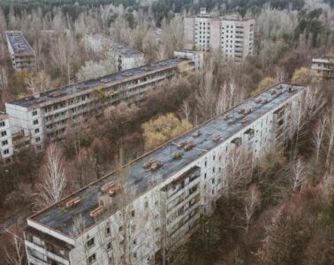 How Prypyat looks like - drone video