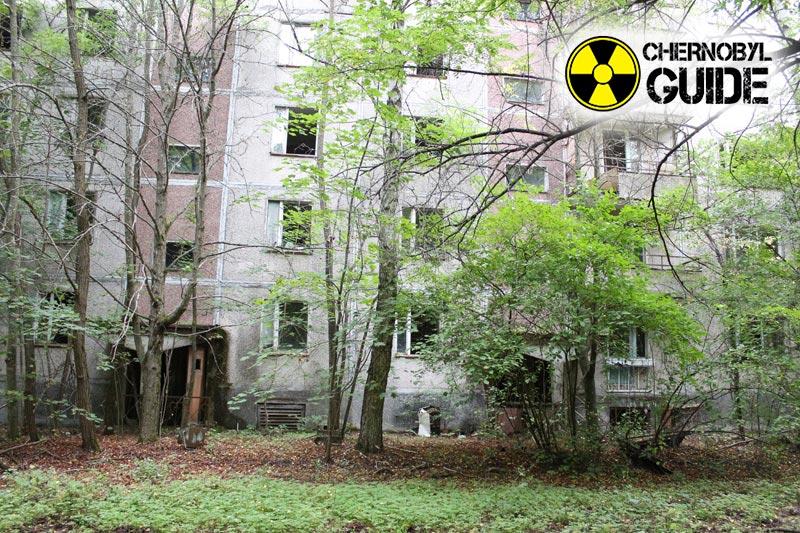 Foto de Chernobyl después de los acontecimientos de 1986