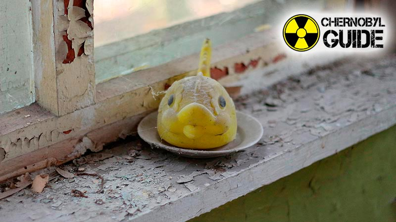 Exclusion zone in Chernobyl, photo