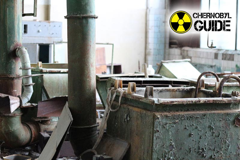 Photos of Soviet equipment in Chernobyl