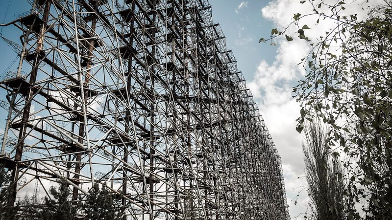Radar complex Doug in Chernobyl, photo