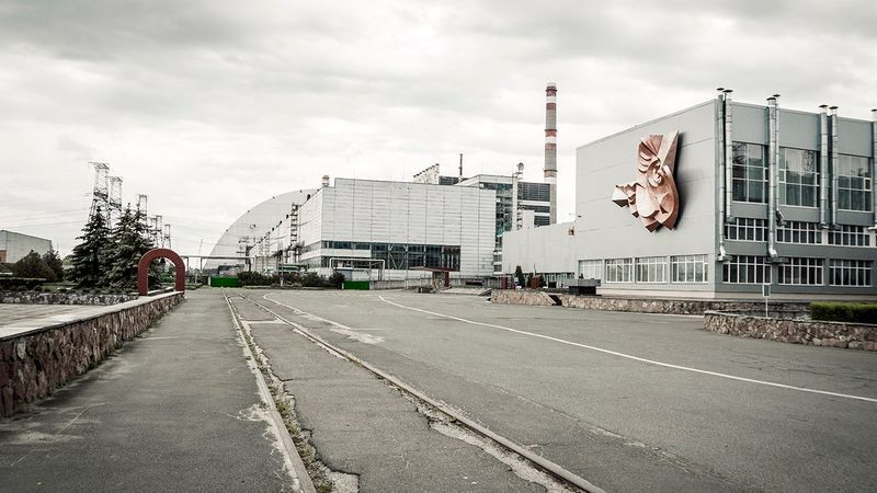 photos of chernobyl reactor