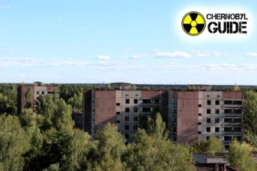 Photos of the panorama of Pripyat