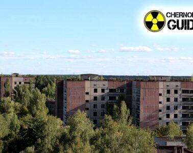 Photos of the panorama of Pripyat