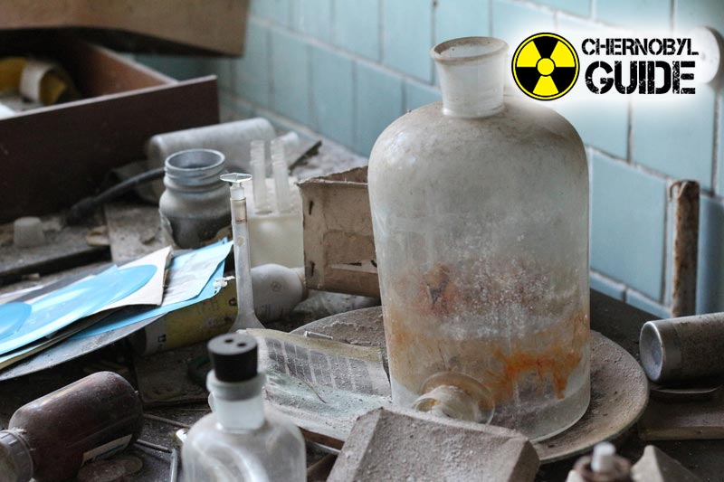 Images of the exclusion zone in Chernobyl after the explosion of 4 nuclear power plants