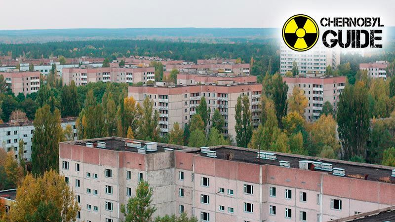 chernobyl aerial photos
