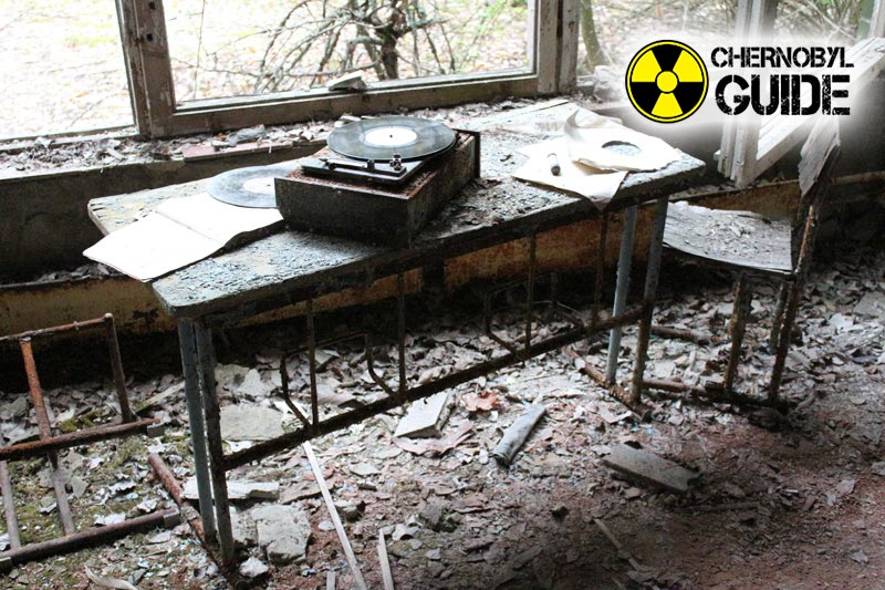 Pictures from the Chernobyl Pripyat after the accident at NPP 1986
