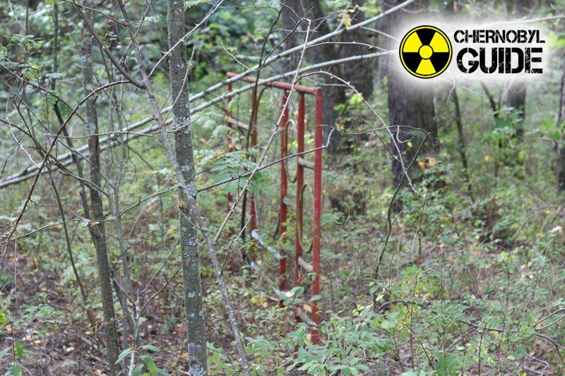 Immagini di Chernobyl in Ucraina dopo l'esplosione del quarto reattore nucleare