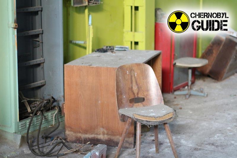 Ciudad de Pripyat en Chernobyl en la última foto