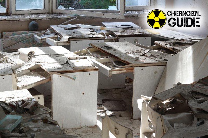 Pripyat en Chernobyl después del desastre en las fotos