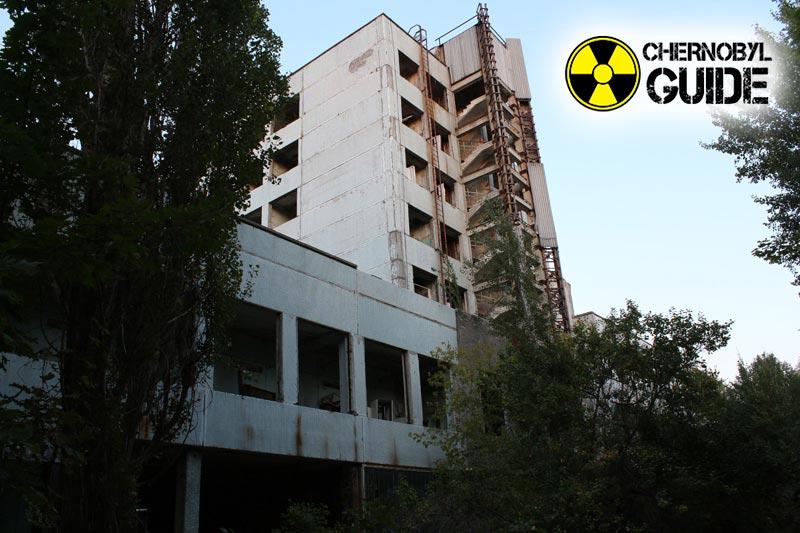 Imágenes de Chernobyl después de la explosión de la cuarta unidad de potencia de la central nuclear