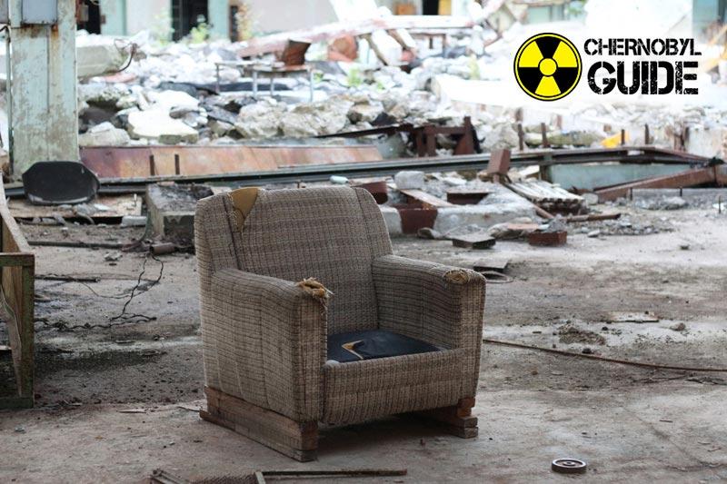 City of Pripyat in Chernobyl on the last photo