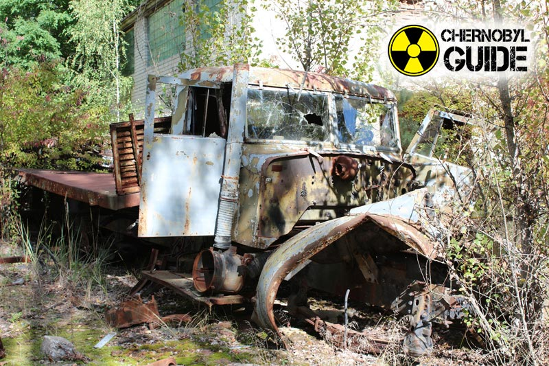 Pictures of Chernobyl in Ukraine today