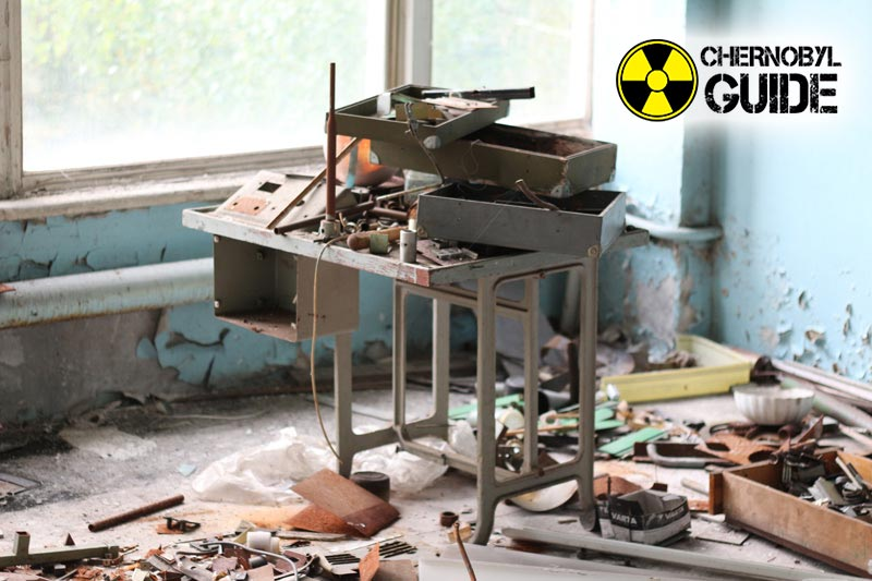 Images of Chernobyl and Pripyat after the explosion of 4 nuclear power plants