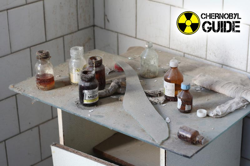 Pictures of the victim of radiation in the city of Pripyat today