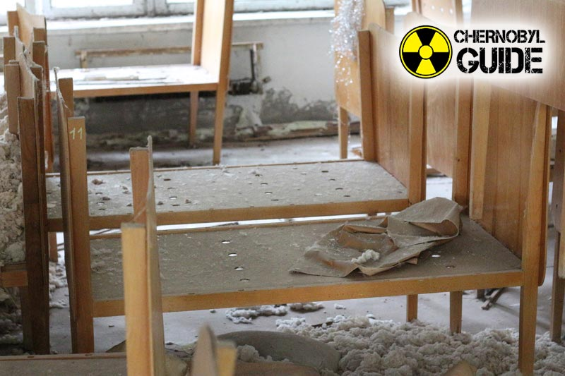 Pictures of Chernobyl after an accident at a local nuclear power plant, our days