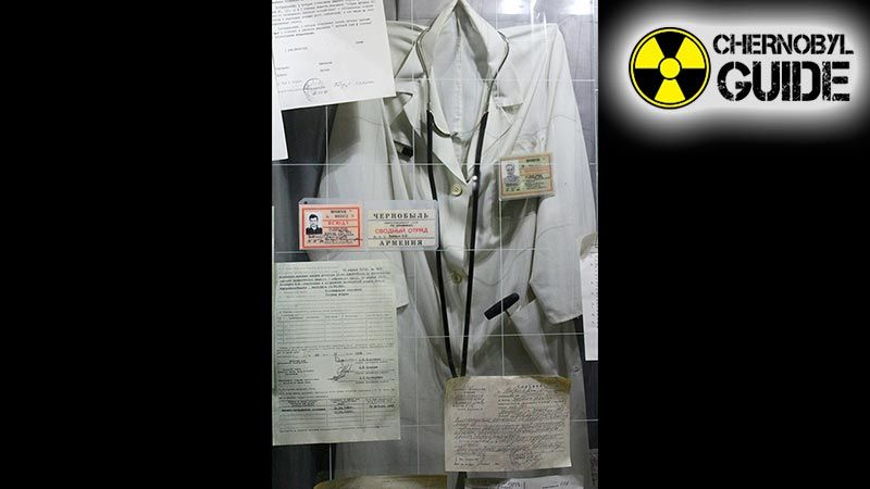 Chernobyl Museum on detailed photos