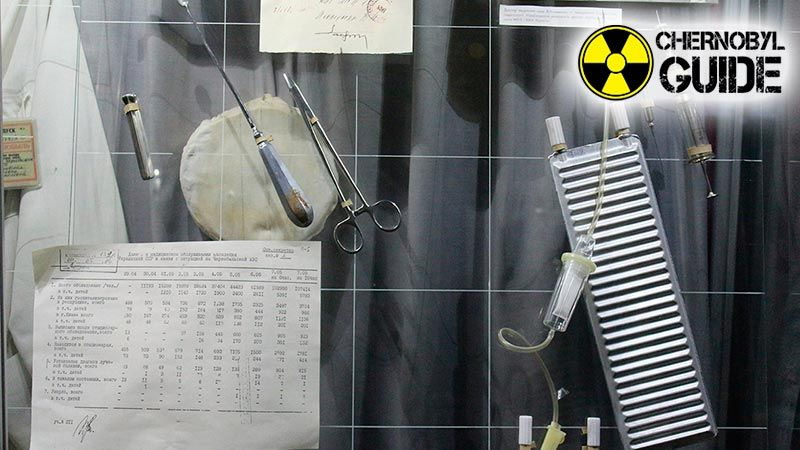 Detailed photos of the Chernobyl Museum