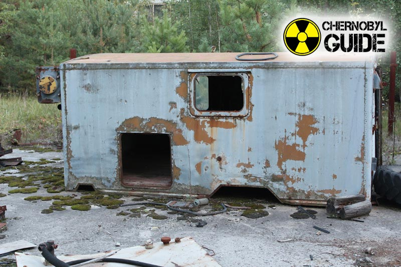 Detailed photos of the Chernobyl disaster