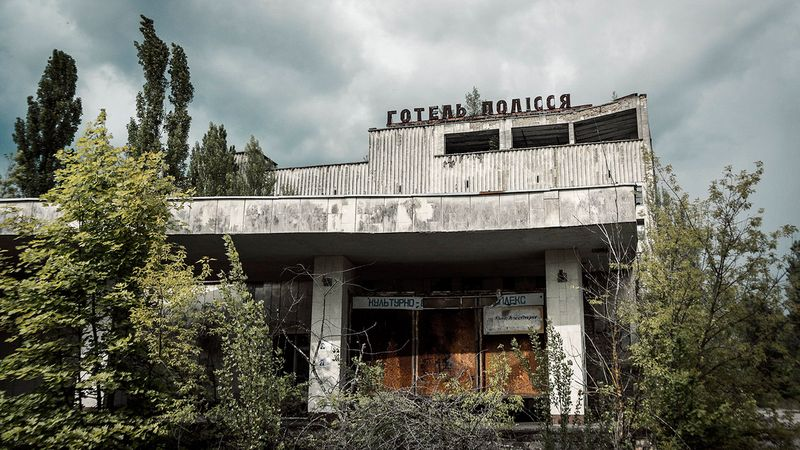 Photos of Chernobyl in our days